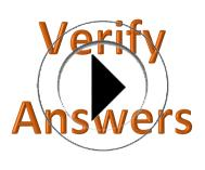 Verify Answer Sheets