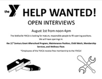 YMCA Help Wanted